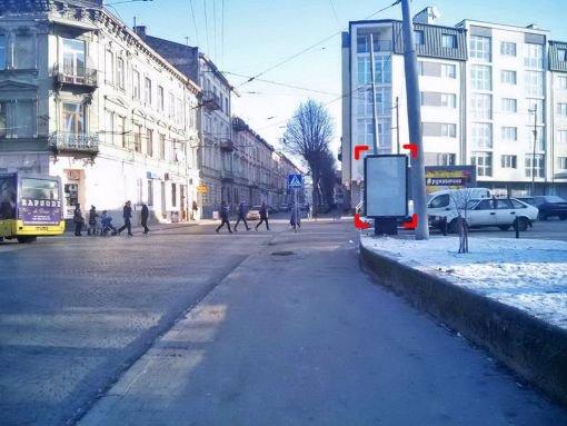 Ситилайт №221230 в городе Львов (Львовская область), размещение наружной рекламы, IDMedia-аренда по самым низким ценам!