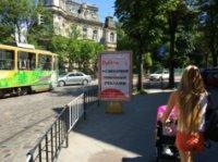 Ситилайт №221781 в городе Львов (Львовская область), размещение наружной рекламы, IDMedia-аренда по самым низким ценам!