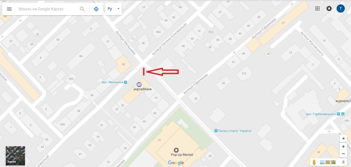 IDMedia Арендовать и разместить Ситилайт в городе Львов (Львовская область) №221782 схема
