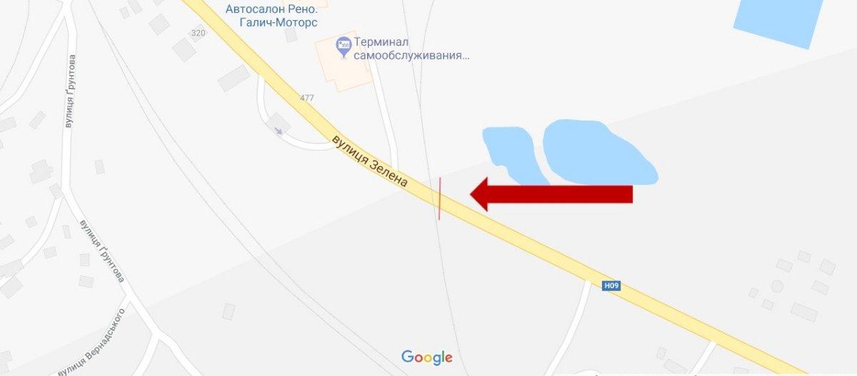 IDMedia Арендовать и разместить Арку в городе Львов (Львовская область) №221794 схема