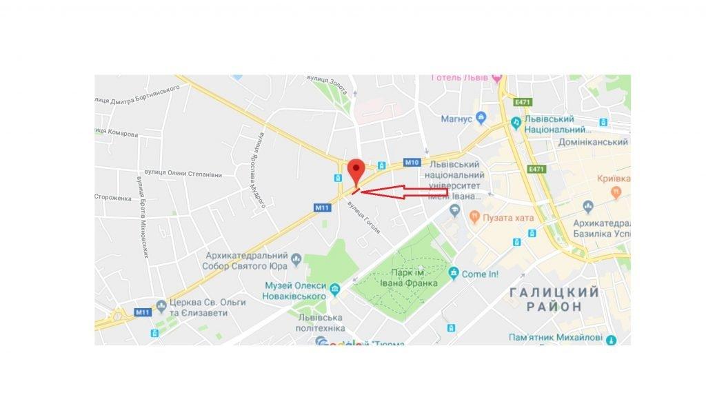 IDMedia Арендовать и разместить Остановку в городе Львов (Львовская область) №221823 схема