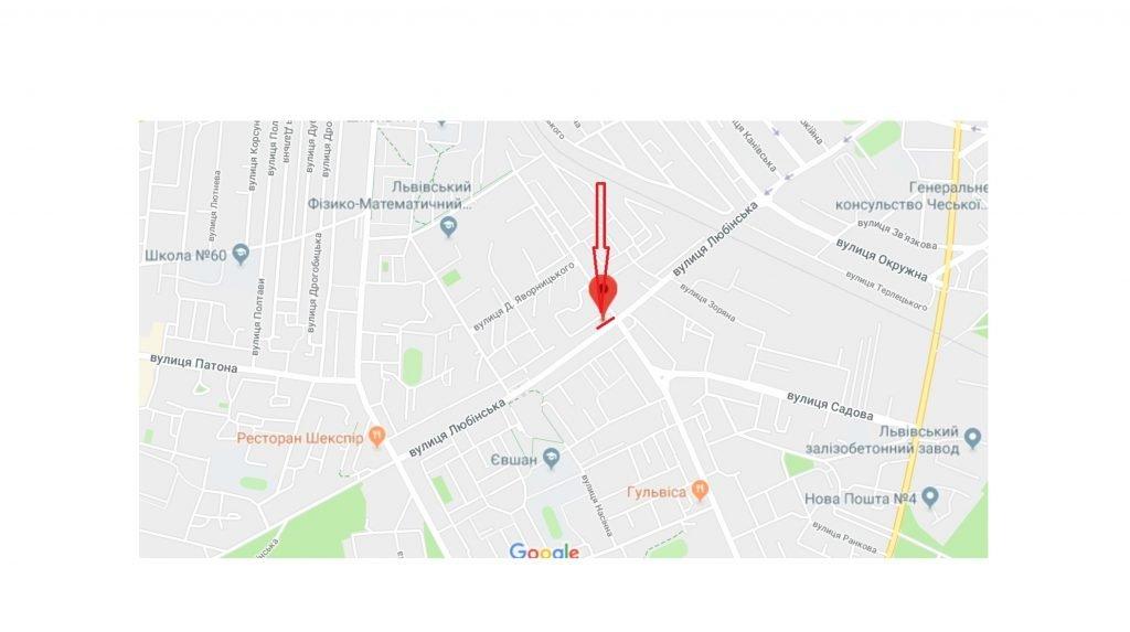 IDMedia Арендовать и разместить Остановку в городе Львов (Львовская область) №221847 схема