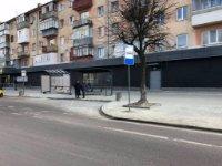 Остановка №221852 в городе Львов (Львовская область), размещение наружной рекламы, IDMedia-аренда по самым низким ценам!