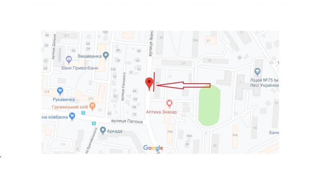 IDMedia Арендовать и разместить Остановку в городе Львов (Львовская область) №221853 схема