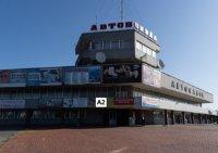 Брандмауэр №222034 в городе Хмельницкий (Хмельницкая область), размещение наружной рекламы, IDMedia-аренда по самым низким ценам!