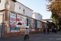 Брандмауэр №222039 в городе Хмельницкий (Хмельницкая область), размещение наружной рекламы, IDMedia-аренда по самым низким ценам!