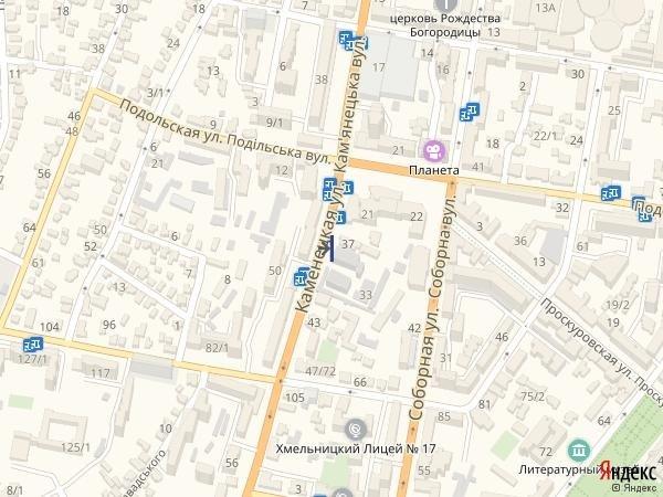 IDMedia Арендовать и разместить Брандмауэр в городе Хмельницкий (Хмельницкая область) №222042 схема