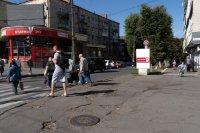Ситилайт №222057 в городе Хмельницкий (Хмельницкая область), размещение наружной рекламы, IDMedia-аренда по самым низким ценам!
