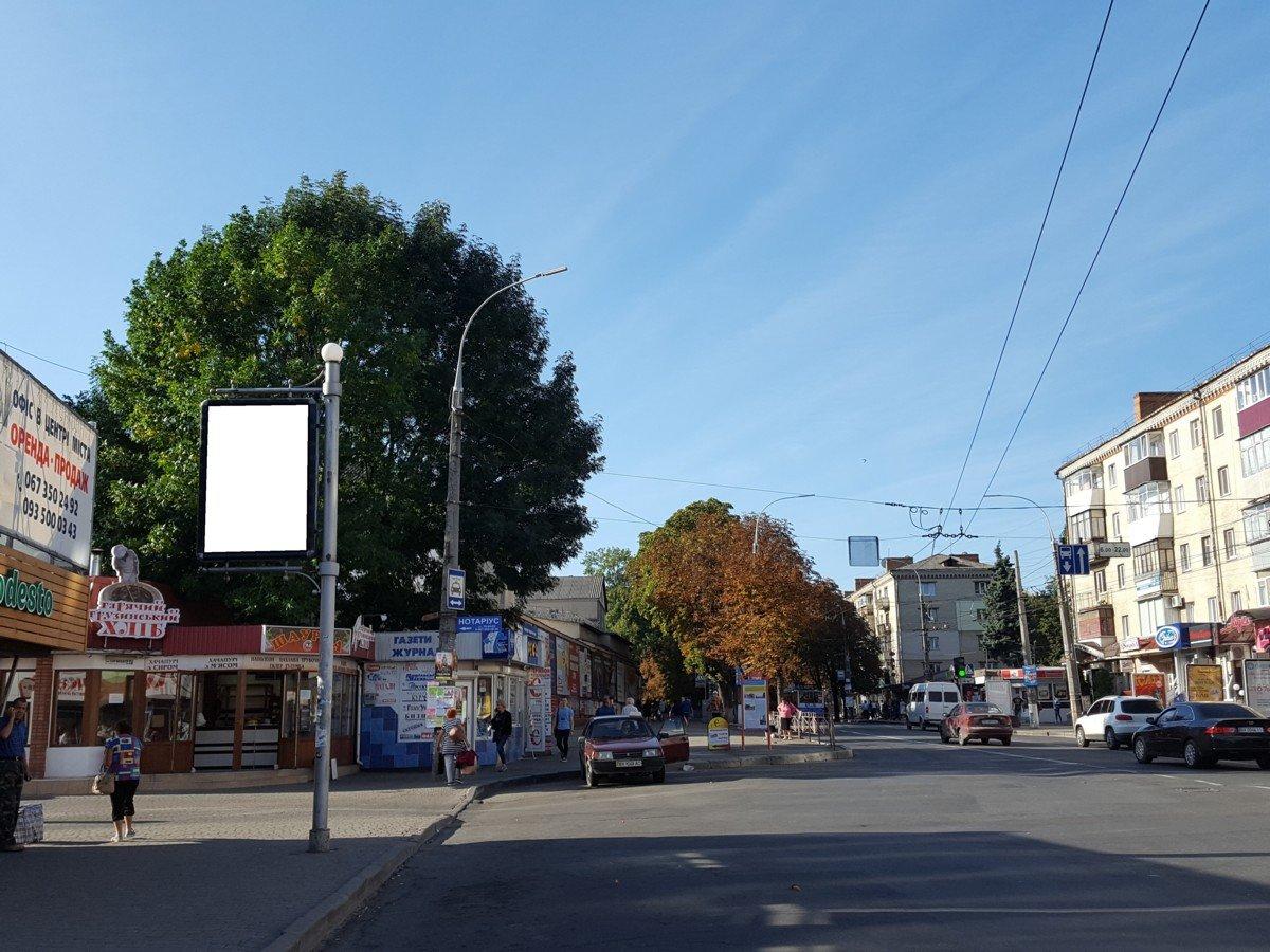 Ситилайт №222060 в городе Хмельницкий (Хмельницкая область), размещение наружной рекламы, IDMedia-аренда по самым низким ценам!