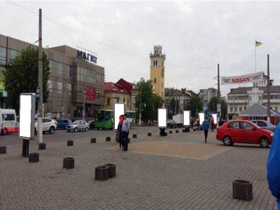 Ситилайт №222069 в городе Хмельницкий (Хмельницкая область), размещение наружной рекламы, IDMedia-аренда по самым низким ценам!