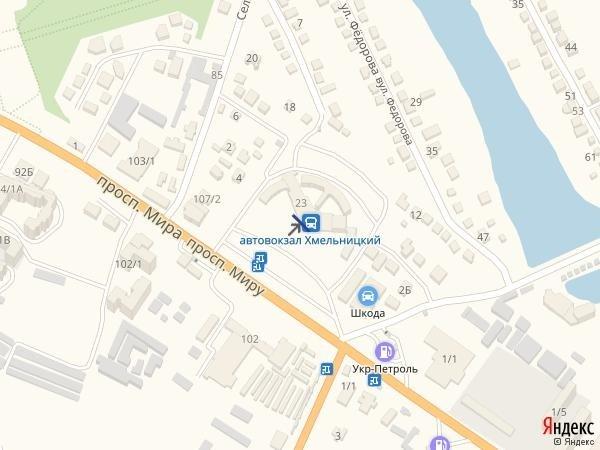 IDMedia Наружная реклама в городе Хмельницкий (Хмельницкая область), Брандмауэр в городе Хмельницкий №222099 схема