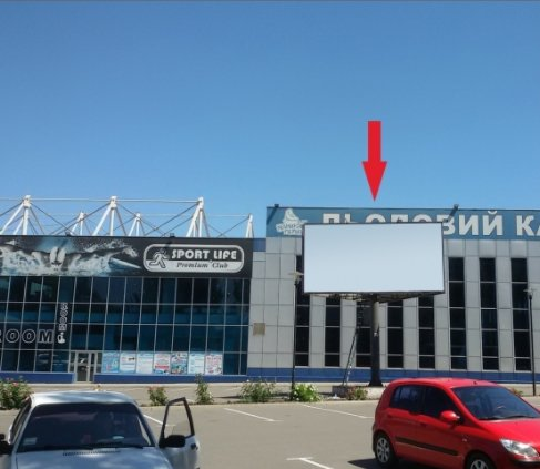 Билборд №222112 в городе Кривой Рог (Днепропетровская область), размещение наружной рекламы, IDMedia-аренда по самым низким ценам!