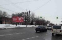Билборд №222121 в городе Кривой Рог (Днепропетровская область), размещение наружной рекламы, IDMedia-аренда по самым низким ценам!