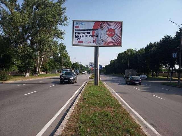 Билборд №222131 в городе Винница (Винницкая область), размещение наружной рекламы, IDMedia-аренда по самым низким ценам!