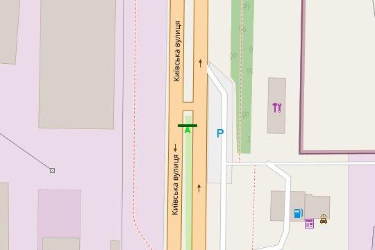 IDMedia Арендовать и разместить Билборд в городе Винница (Винницкая область) №222131 схема