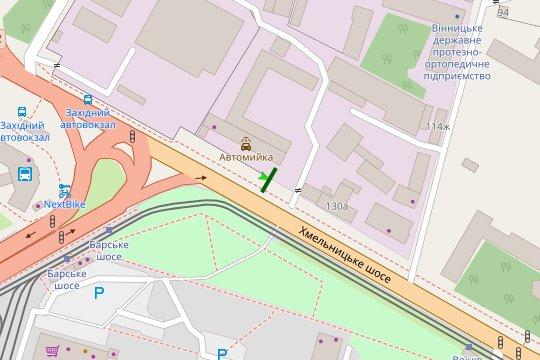 IDMedia Арендовать и разместить Билборд в городе Винница (Винницкая область) №222135 схема
