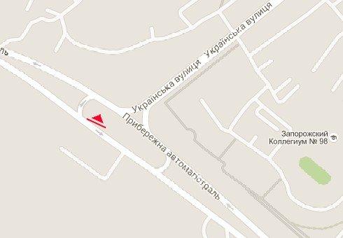 IDMedia Арендовать и разместить Билборд в городе Запорожье (Запорожская область) №222137 схема