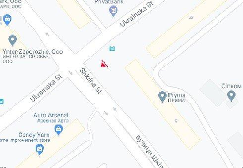 IDMedia Арендовать и разместить Билборд в городе Запорожье (Запорожская область) №222138 схема