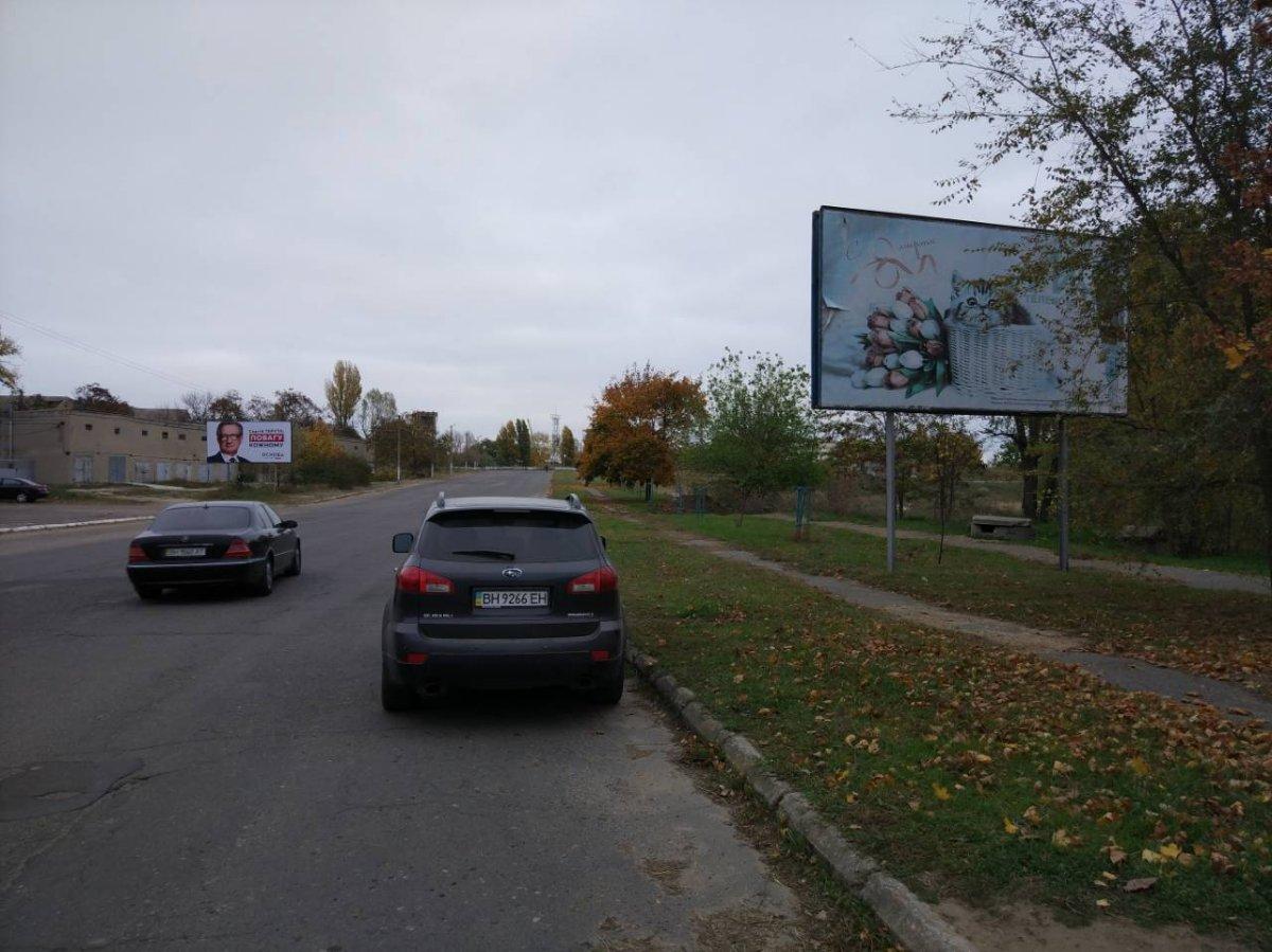 Билборд №222146 в городе Белгород-Днестровский (Одесская область), размещение наружной рекламы, IDMedia-аренда по самым низким ценам!