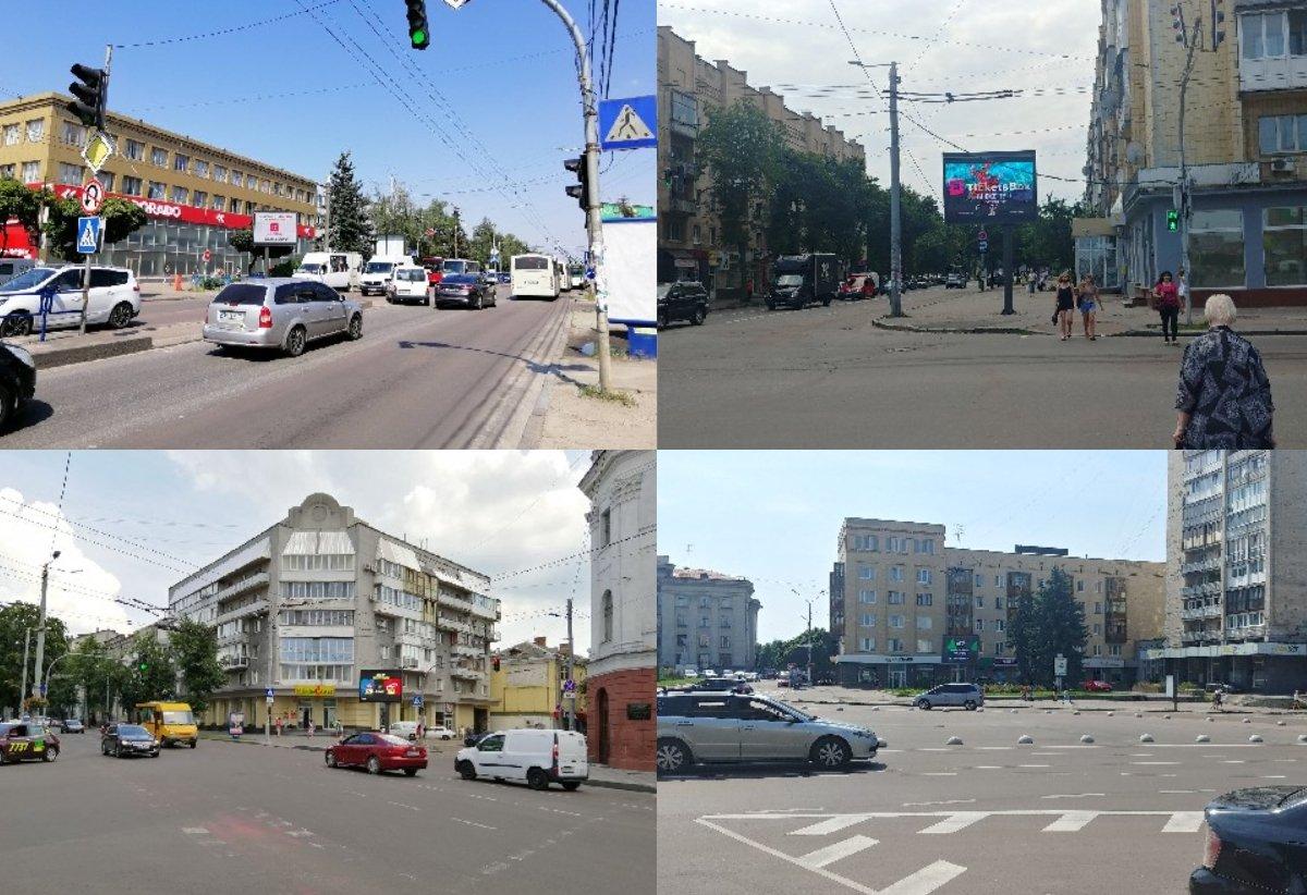 Экран №222191 в городе Житомир (Житомирская область), размещение наружной рекламы, IDMedia-аренда по самым низким ценам!