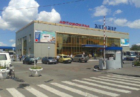 Билборд №222202 в городе Житомир (Житомирская область), размещение наружной рекламы, IDMedia-аренда по самым низким ценам!