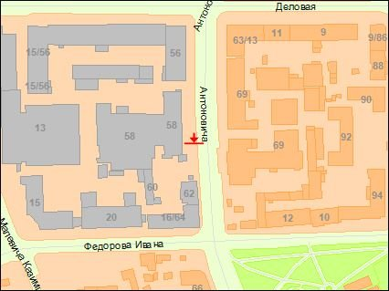 IDMedia Арендовать и разместить Экран в городе Киев (Киевская область) №223048 схема