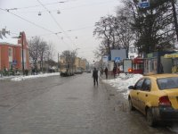 Ситилайт №223683 в городе Львов (Львовская область), размещение наружной рекламы, IDMedia-аренда по самым низким ценам!