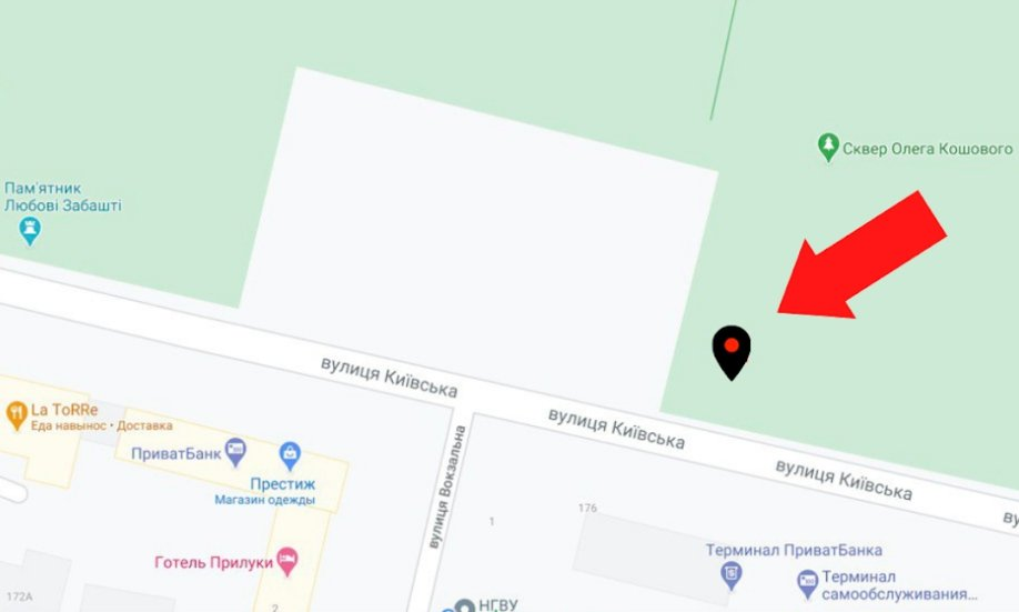 IDMedia Арендовать и разместить Экран в городе Прилуки (Черниговская область) №223847 схема