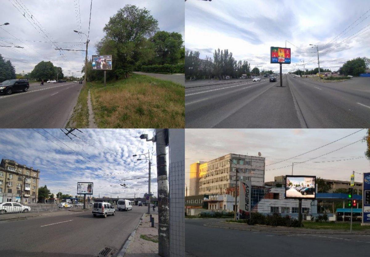 IDMedia Арендовать и разместить Экран в городе Днепр (Днепропетровская область) №223965 схема