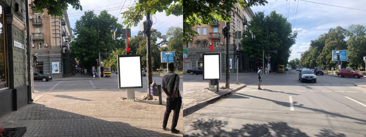Ситилайт №224113 в городе Днепр (Днепропетровская область), размещение наружной рекламы, IDMedia-аренда по самым низким ценам!