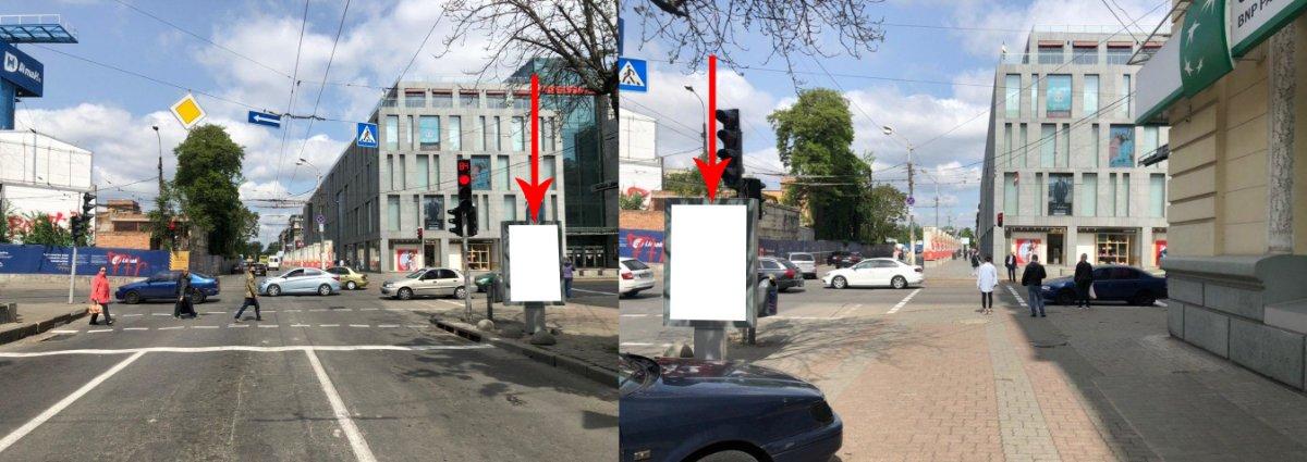Ситилайт №224144 в городе Днепр (Днепропетровская область), размещение наружной рекламы, IDMedia-аренда по самым низким ценам!