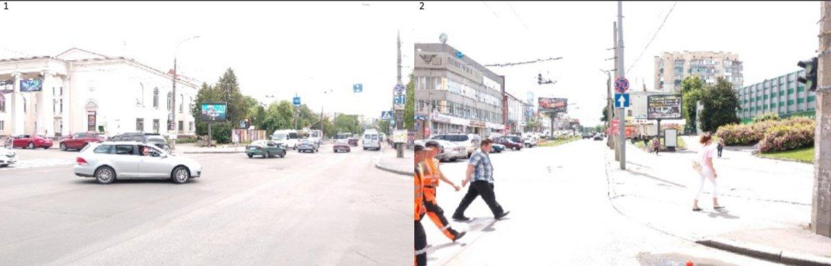Экран №224911 в городе Хмельницкий (Хмельницкая область), размещение наружной рекламы, IDMedia-аренда по самым низким ценам!