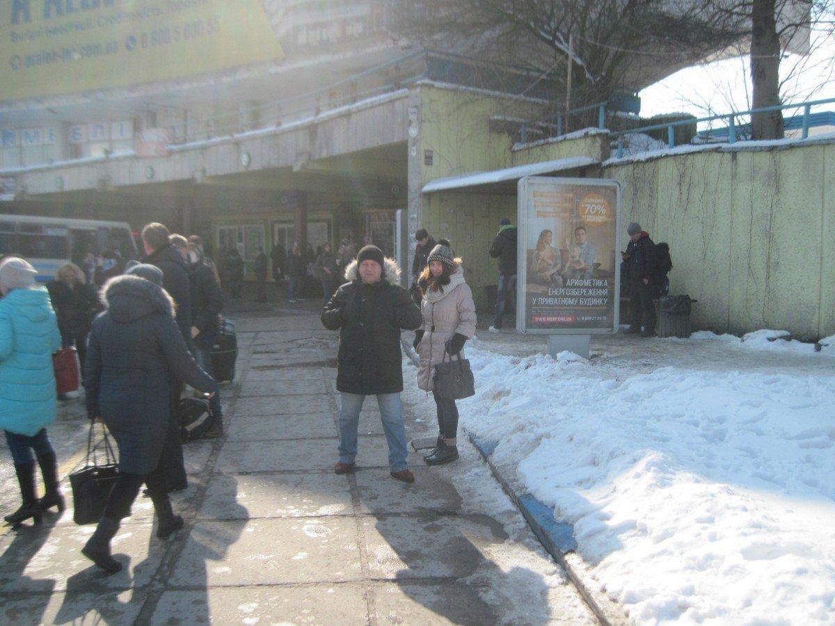 Ситилайт №224988 в городе Львов (Львовская область), размещение наружной рекламы, IDMedia-аренда по самым низким ценам!