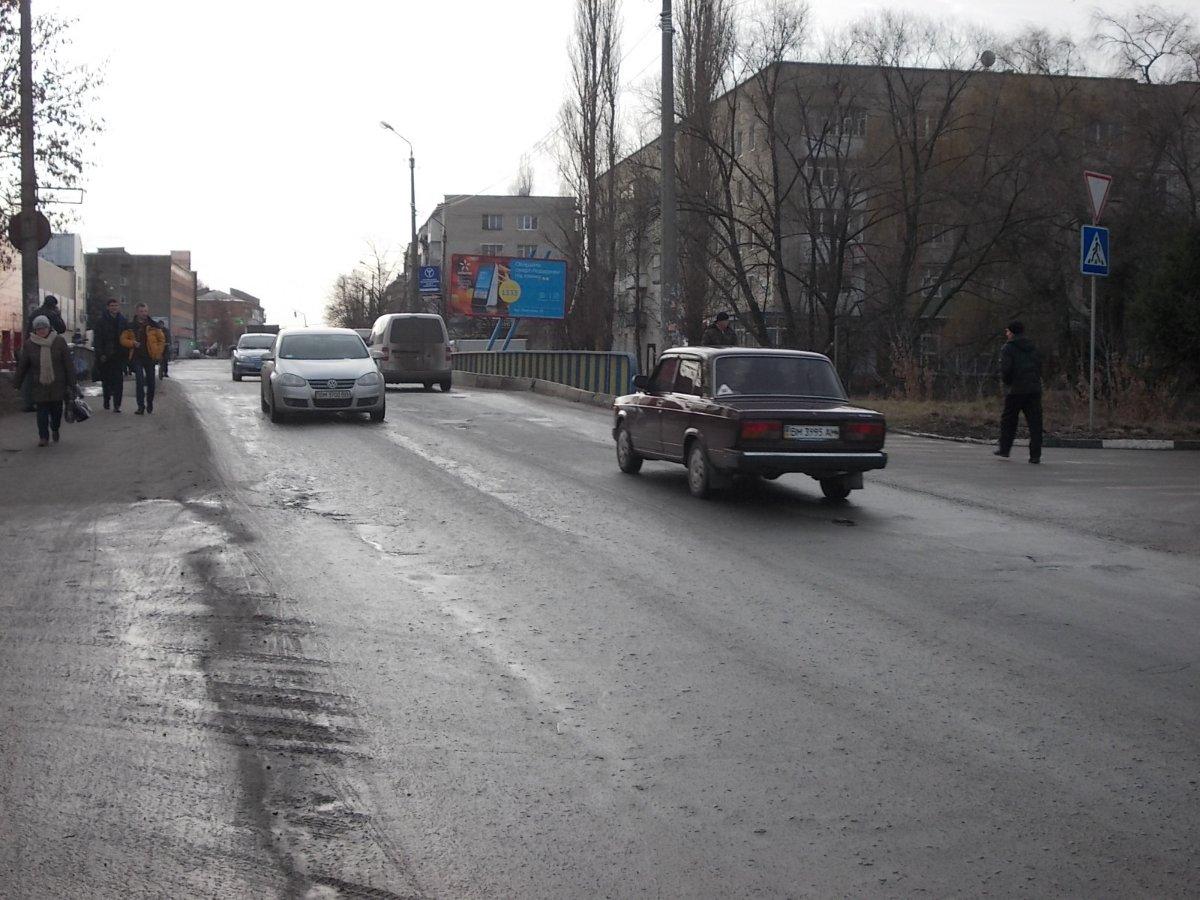 Билборд №225038 в городе Ахтырка (Сумская область), размещение наружной рекламы, IDMedia-аренда по самым низким ценам!