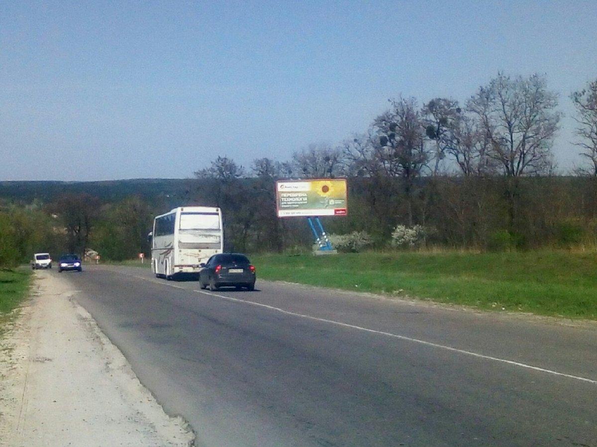 Билборд №225044 в городе Тростянец (Сумская область), размещение наружной рекламы, IDMedia-аренда по самым низким ценам!