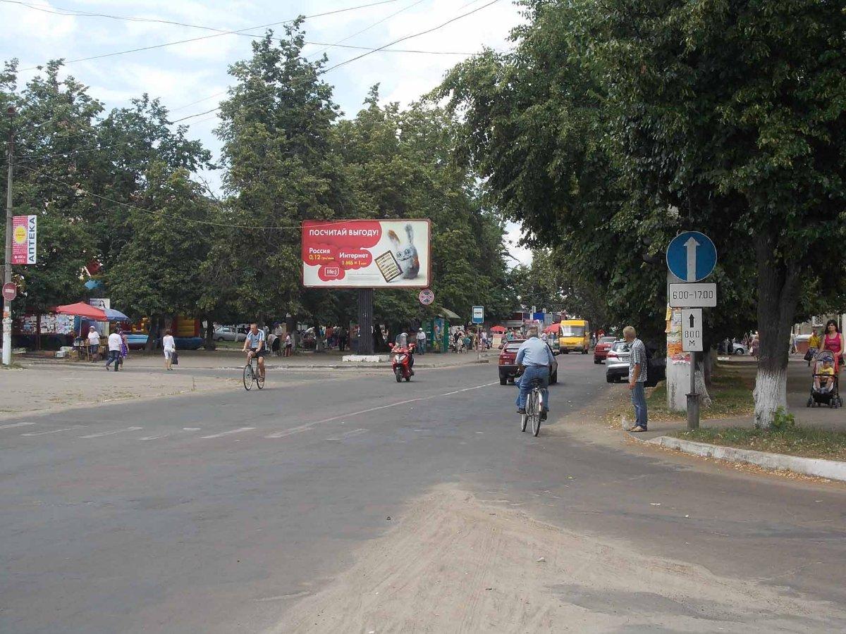 Билборд №225055 в городе Шостка (Сумская область), размещение наружной рекламы, IDMedia-аренда по самым низким ценам!