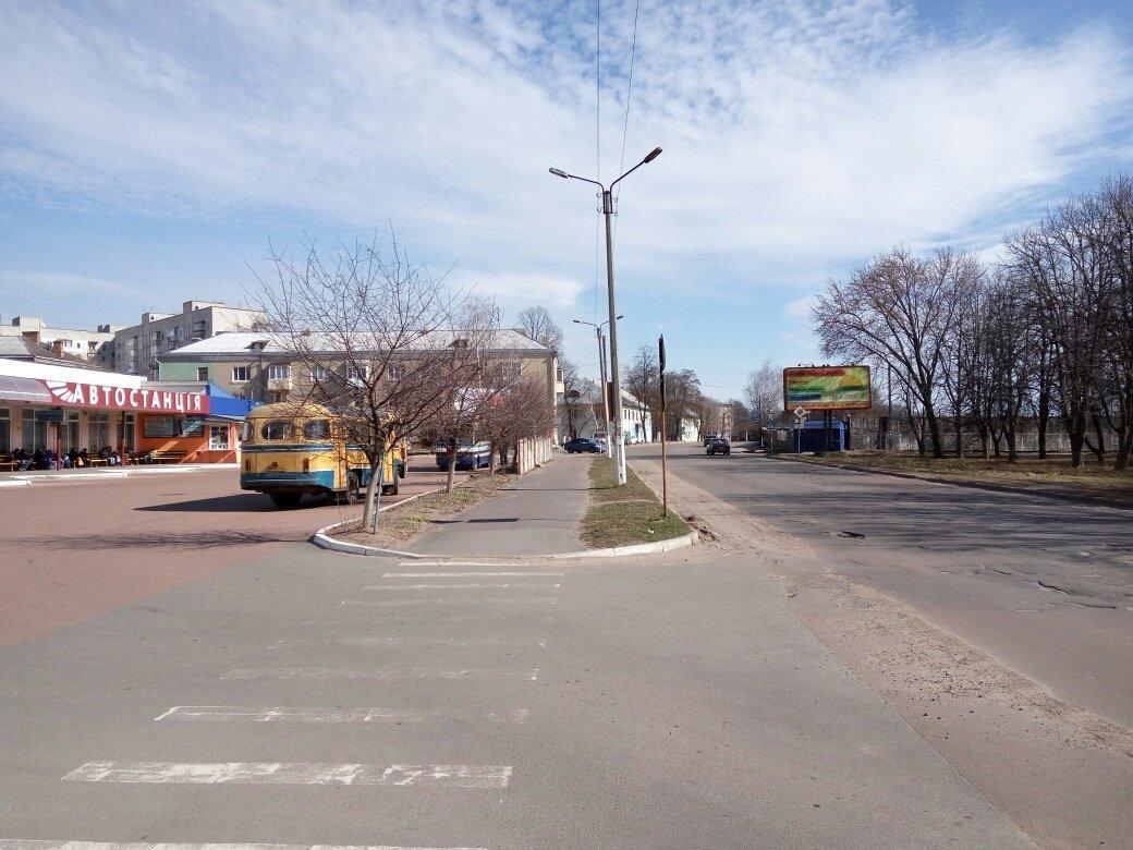 Билборд №225056 в городе Шостка (Сумская область), размещение наружной рекламы, IDMedia-аренда по самым низким ценам!
