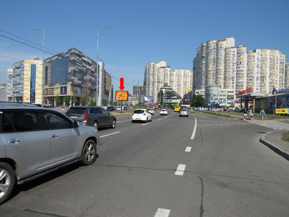 Экран №225094 в городе Киев (Киевская область), размещение наружной рекламы, IDMedia-аренда по самым низким ценам!