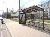 Остановка №225753 в городе Львов (Львовская область), размещение наружной рекламы, IDMedia-аренда по самым низким ценам!