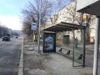 Остановка №225755 в городе Львов (Львовская область), размещение наружной рекламы, IDMedia-аренда по самым низким ценам!