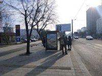Остановка №225758 в городе Львов (Львовская область), размещение наружной рекламы, IDMedia-аренда по самым низким ценам!