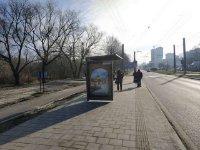 Остановка №225760 в городе Львов (Львовская область), размещение наружной рекламы, IDMedia-аренда по самым низким ценам!