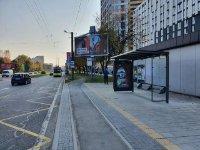 Остановка №225763 в городе Львов (Львовская область), размещение наружной рекламы, IDMedia-аренда по самым низким ценам!