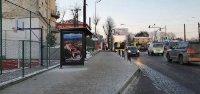 Остановка №225773 в городе Львов (Львовская область), размещение наружной рекламы, IDMedia-аренда по самым низким ценам!