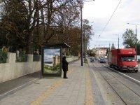Остановка №225777 в городе Львов (Львовская область), размещение наружной рекламы, IDMedia-аренда по самым низким ценам!