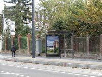 Остановка №225778 в городе Львов (Львовская область), размещение наружной рекламы, IDMedia-аренда по самым низким ценам!