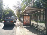 Остановка №225780 в городе Львов (Львовская область), размещение наружной рекламы, IDMedia-аренда по самым низким ценам!