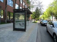 Остановка №225781 в городе Львов (Львовская область), размещение наружной рекламы, IDMedia-аренда по самым низким ценам!