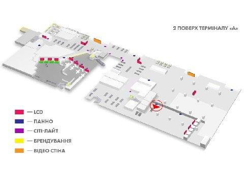 IDMedia Наружная реклама в городе Киев (Киевская область), Indoor в городе Киев №226153 схема