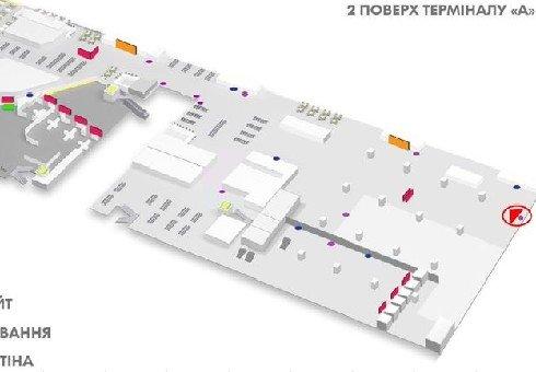 IDMedia Наружная реклама в городе Киев (Киевская область), Indoor в городе Киев №226165 схема